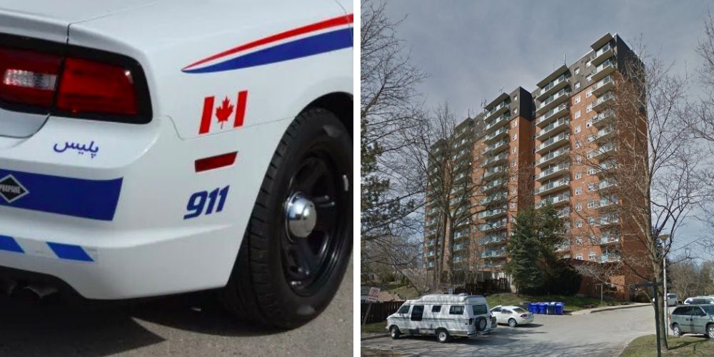 Ontario man falls from high rise during encounter with London police