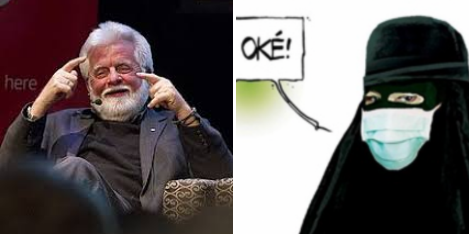 Terry Mosher's face mask/niqab cartoon misses the mark