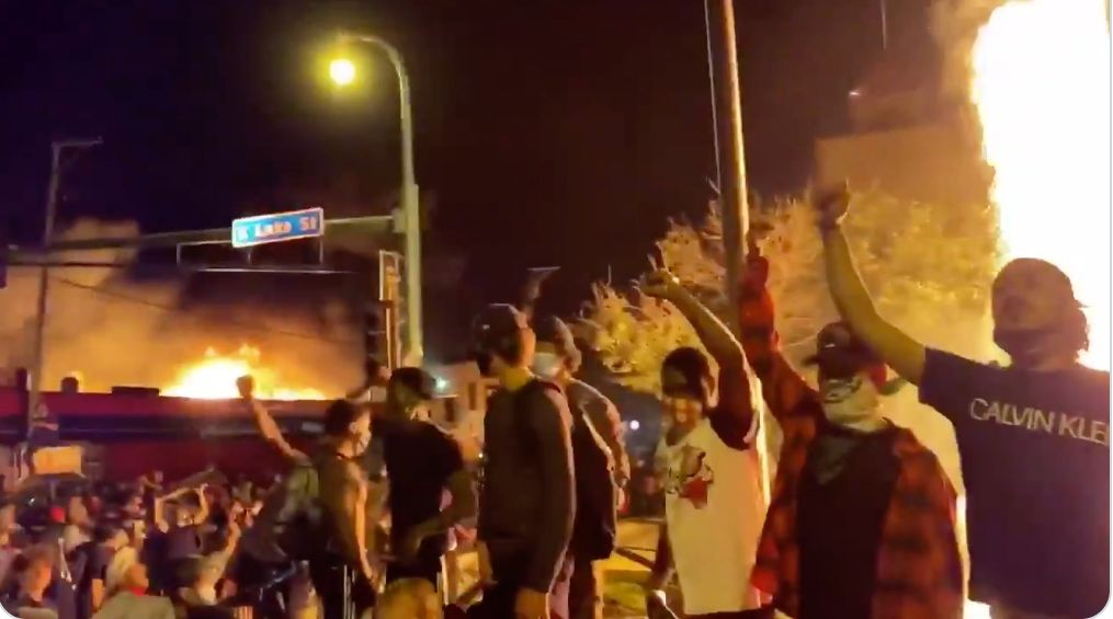 Violent protests flare across the US over George Floyd's death