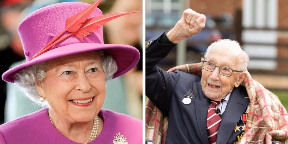 Knighthood for Captain Tom Moore, who raised £33 million for the NHS doing laps around his garden