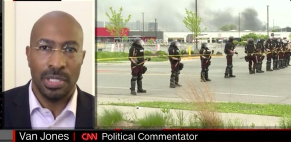 WATCH: CNN analyst says all white people have 'virus' of racism