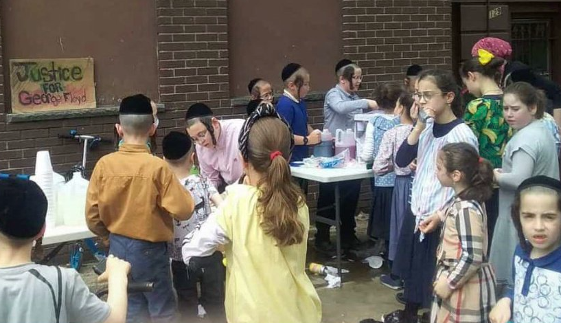 Jewish children's gathering turned into a George Floyd protest so de Blasio wouldn't shut it down