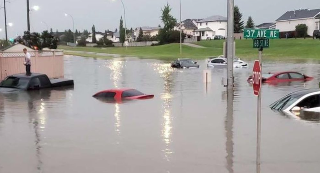 Calgary rocked by hail and flooding, councillors warn of 'catastrophic damage'