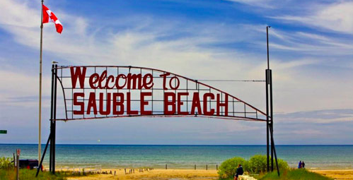 Sauble beach closing due to Toronto day-trippers