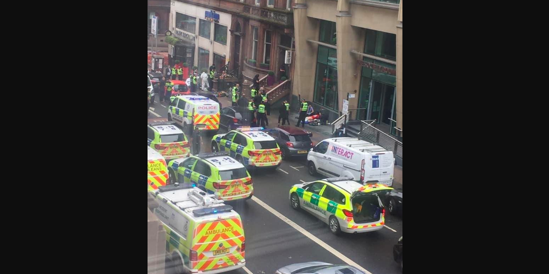 BREAKING: Three dead, police officer stabbed, suspect shot in Glasgow