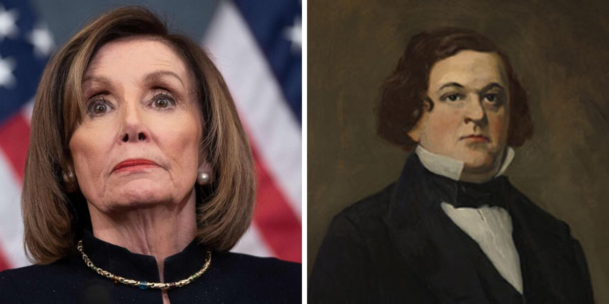 Speaker of the House orders portraits of past speakers removed due to racism