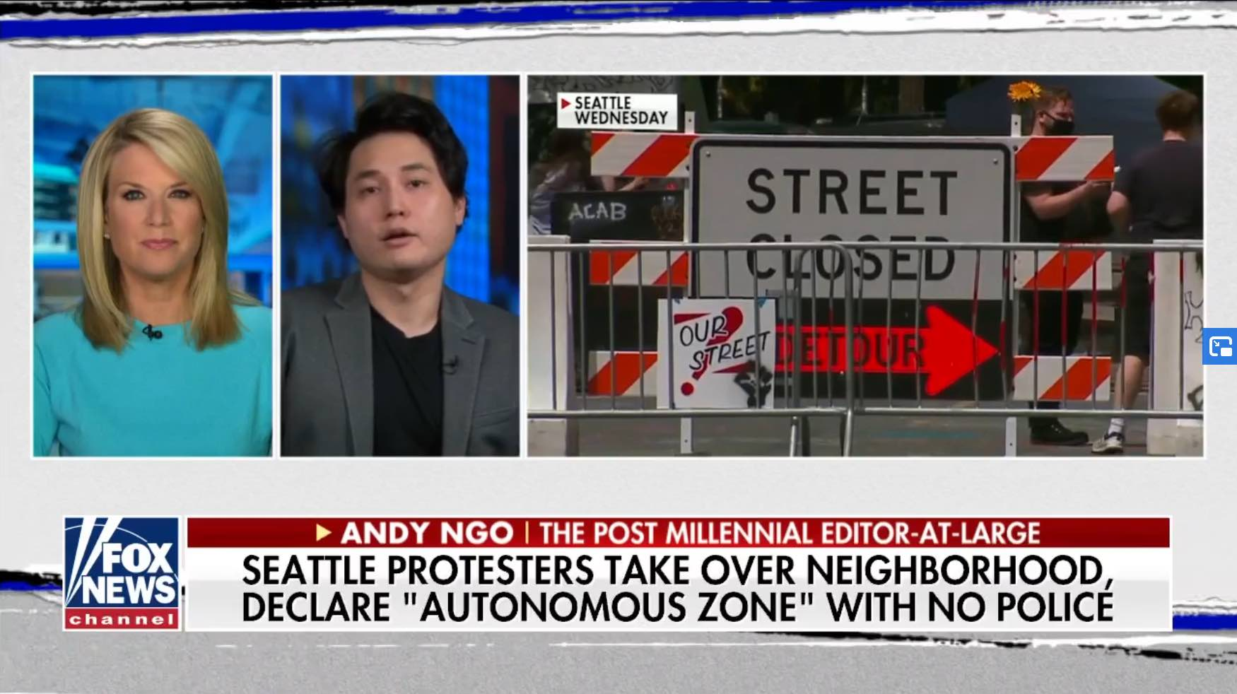 WATCH: Andy Ngo explains the anarchy in Seattle's 'autonomous zone' on Fox News