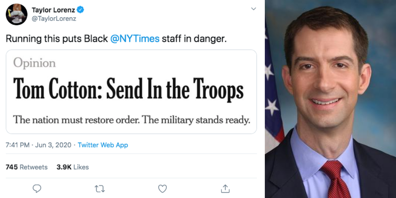 Tom Cotton's New York Times op-ed prompts unhinged liberal meltdown