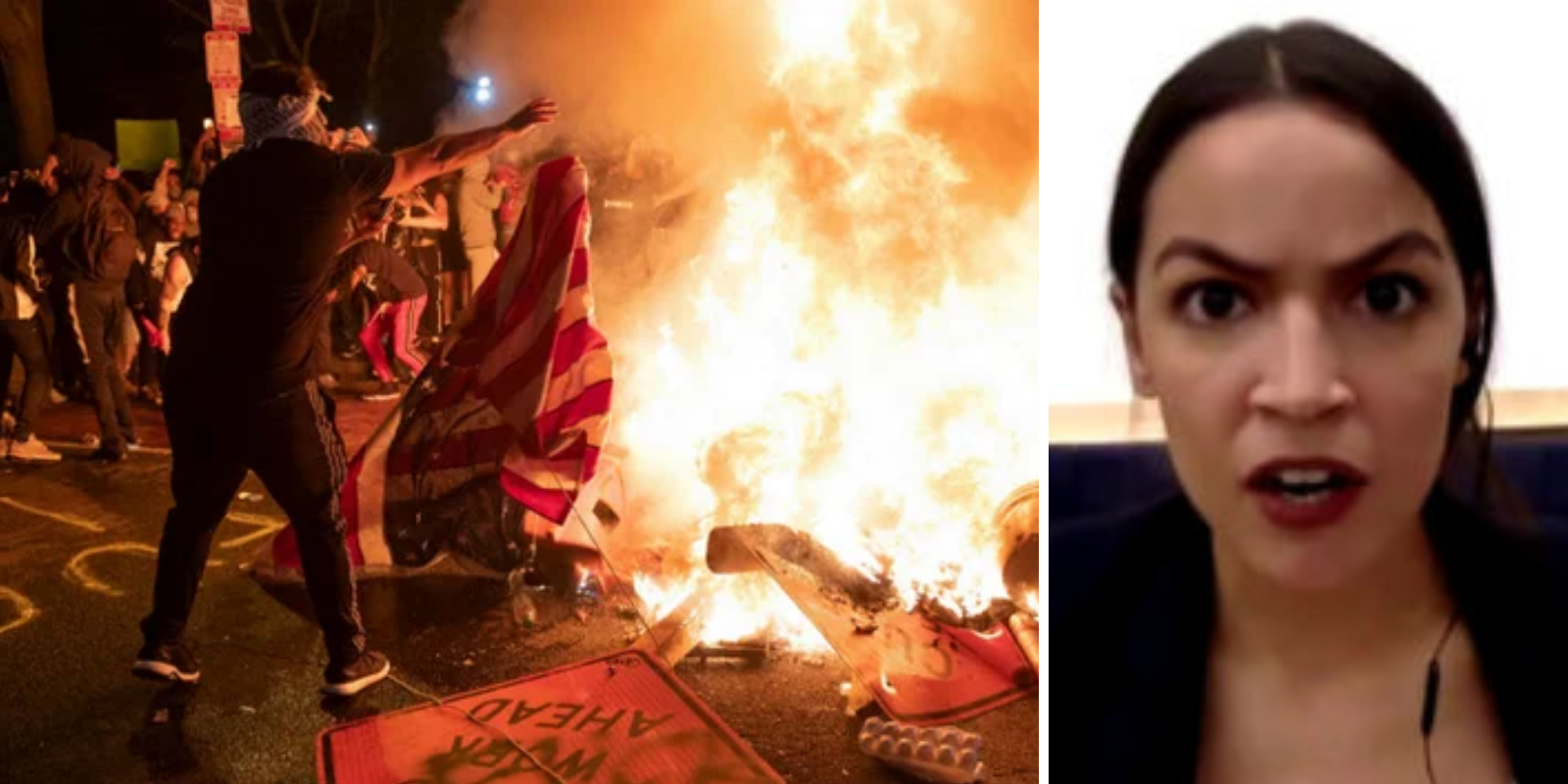 POLL: Almost two-thirds of young Americans at least partially support riots, arson