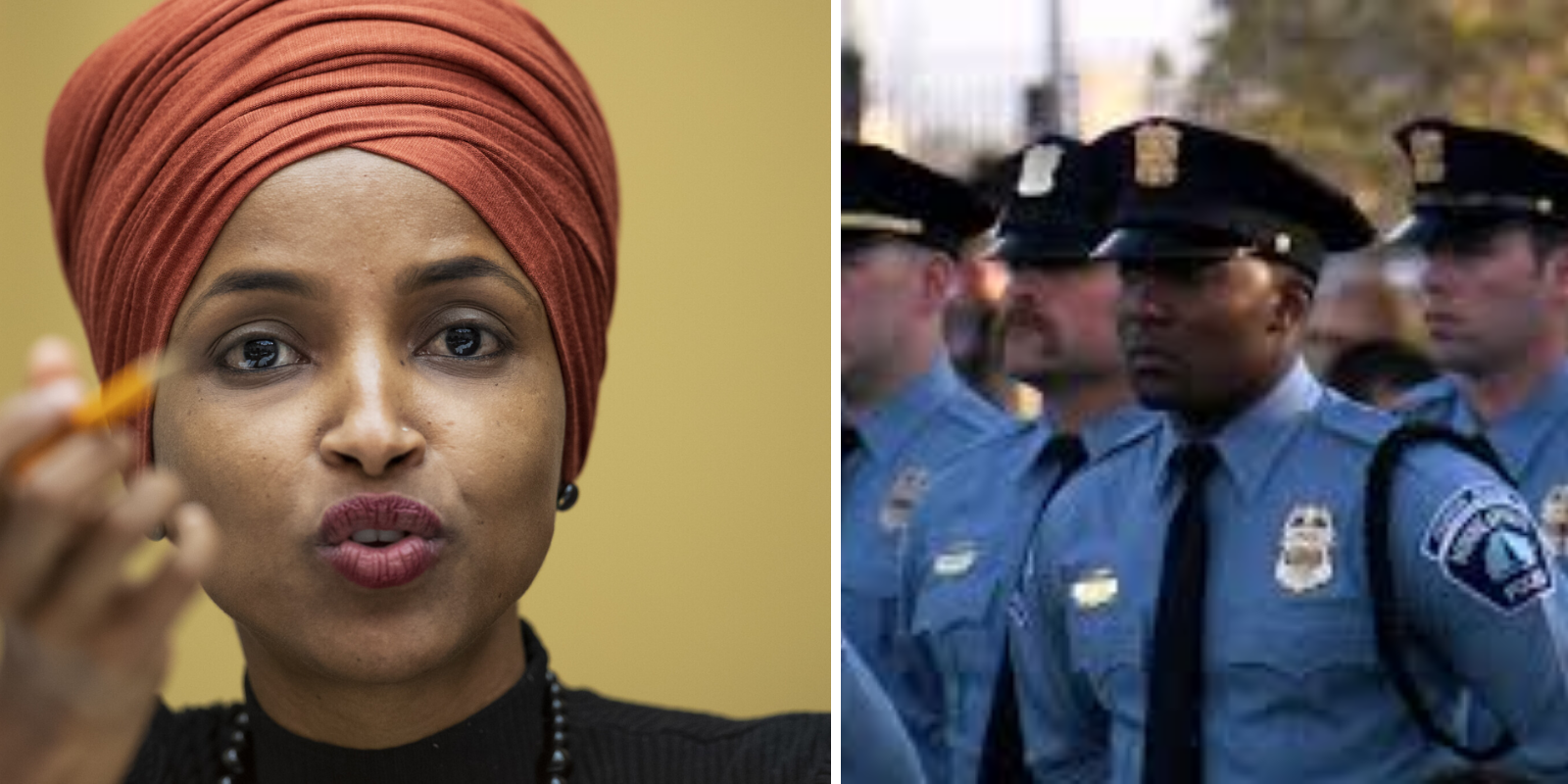"""Ilhan Omar says """"it's time to disband"""" the Minneapolis police"""