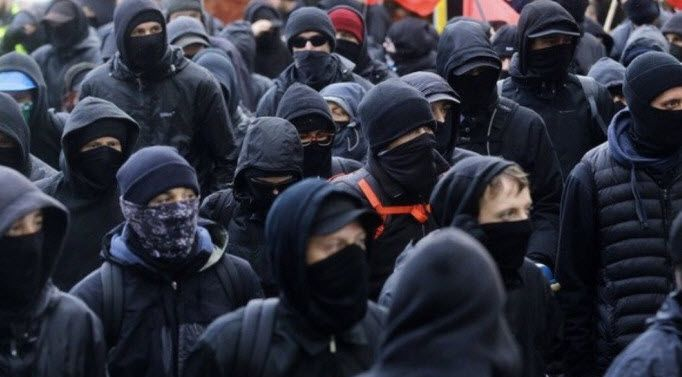 Antifa group calls for rioters to take up arms against the police
