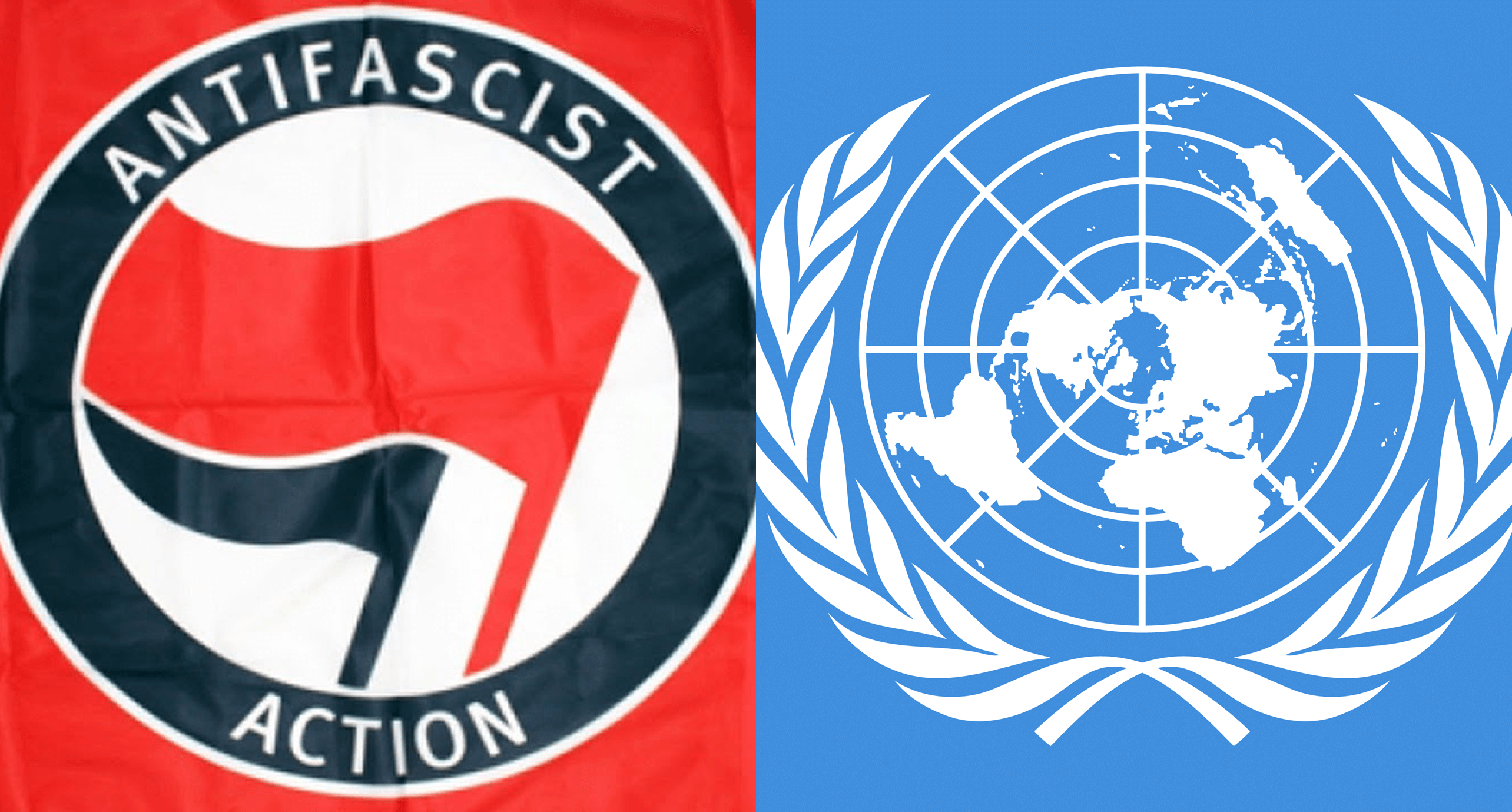 United Nations comes out in support of Antifa