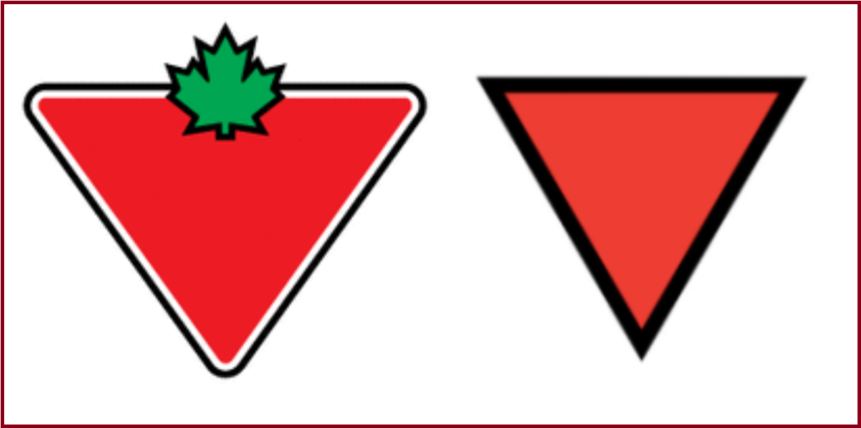 Parody accounts claim Canadian Tire uses a Nazi hate symbol in their logo