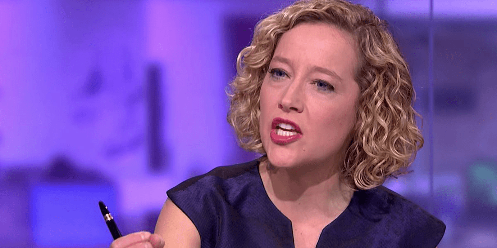 Cathy Newman guest gives bizarre answer to question about Winston Churchill statue
