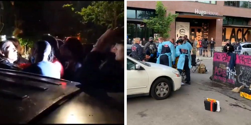 Seattle's occupied zone sees chaos, assaults, and medical emergencies overnight