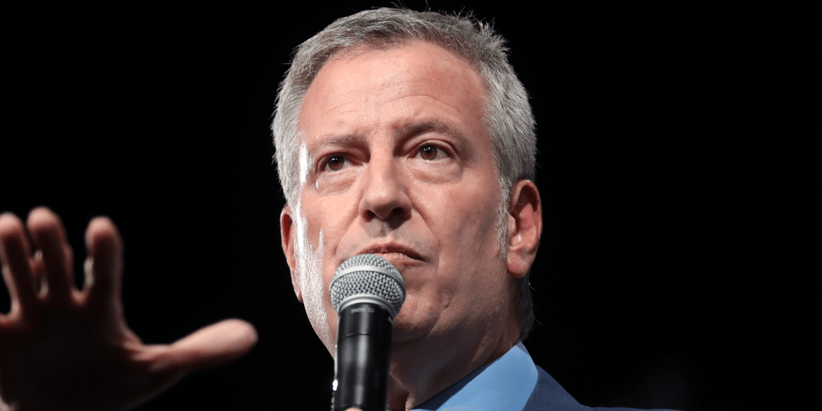 New York City Mayor Bill de Blasio announced on Sunday his intentions to defund the NYPD amid protests following the death of George Floyd.