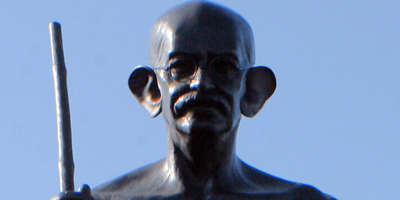 Protesters demand the take-down of Gandhi statue—charge him with racism