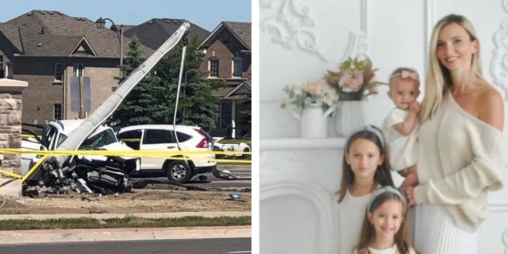 Driver charged in Brampton crash that killed mother and three young daughters