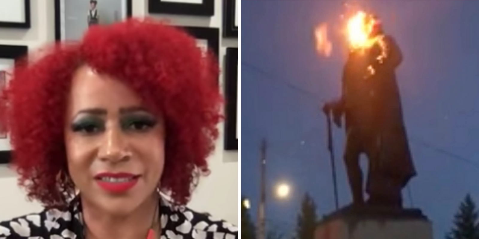'1619 Project' writer claims 'America isn't burning' as America burns