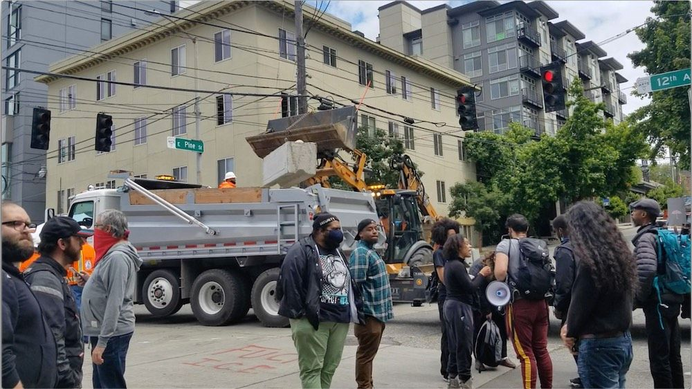 Business owners in Seattle's occupied zone report threats against their safety