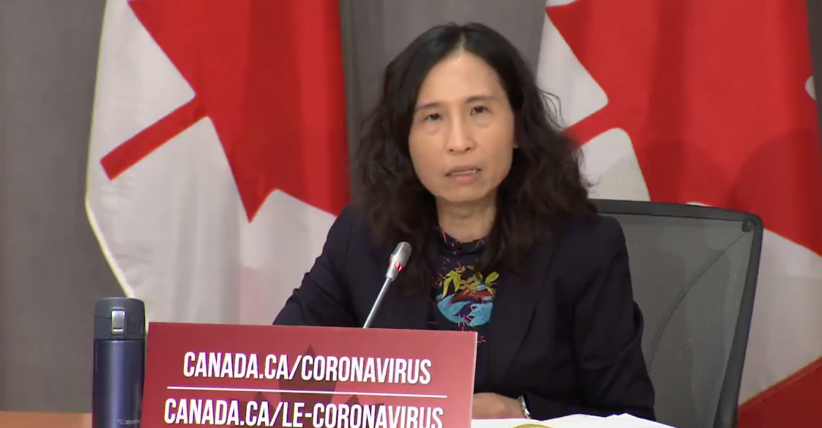 Dr. Tam warns Canadians that threat of second wave is 'very real'