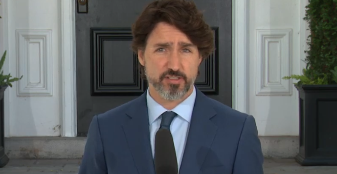Trudeau defends decision to attend protest with thousands, breaking his own social distancing rules