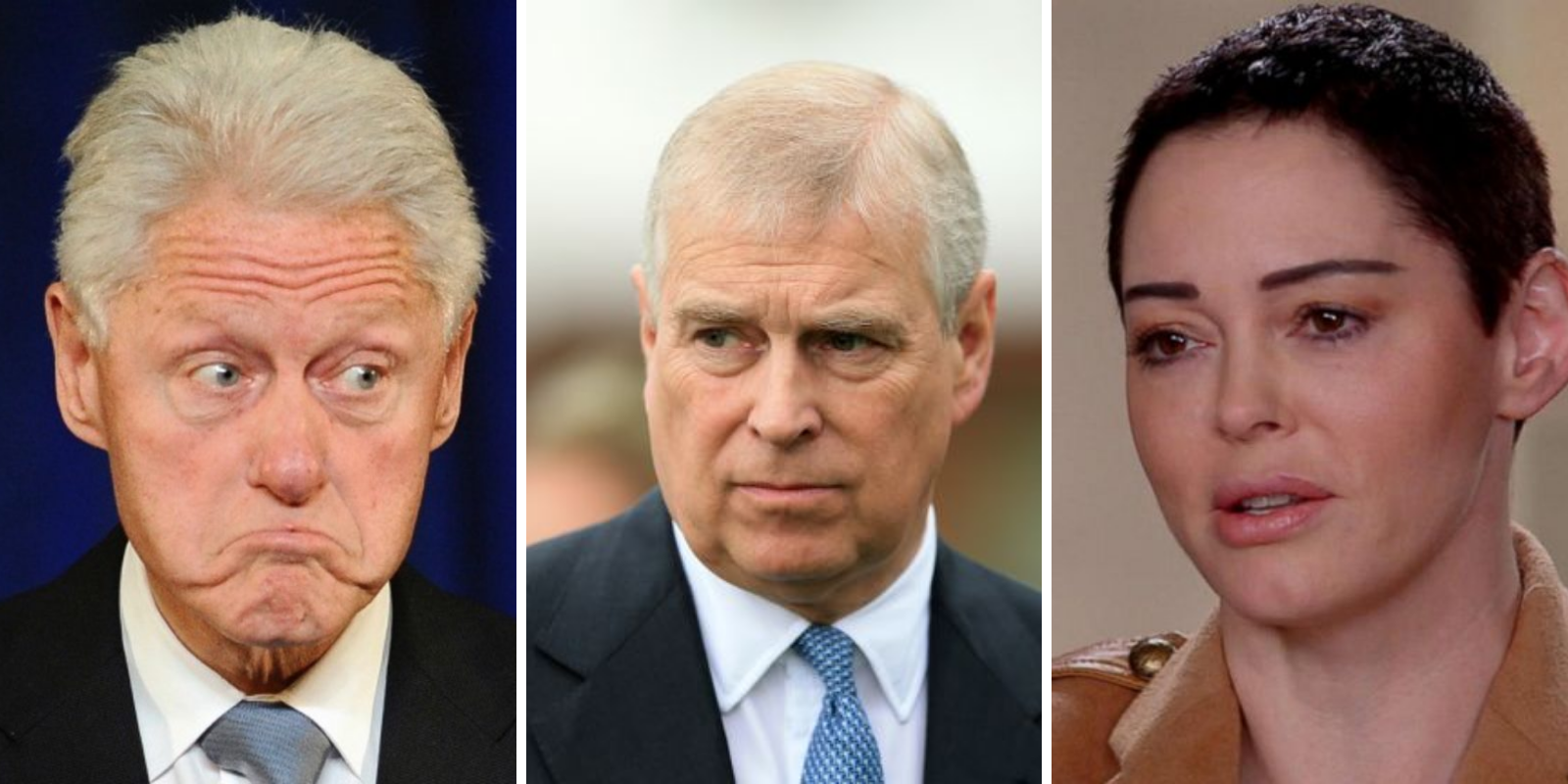 BREAKING: Rose McGowan calls for the arrest of Bill Clinton and Prince Andrew