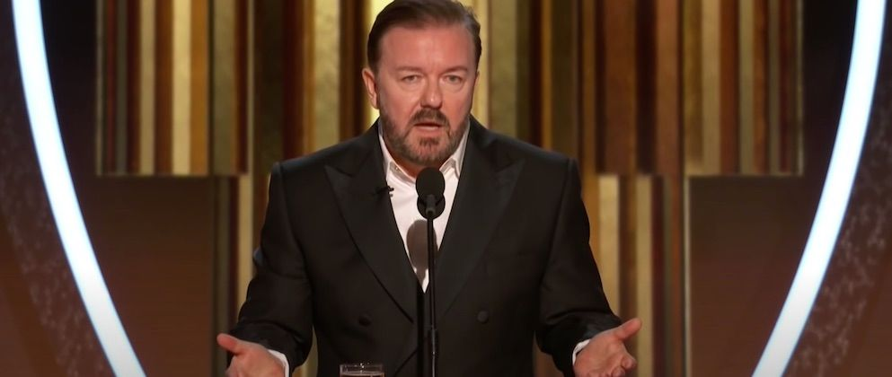 WATCH: Ricky Gervais slams political correctness and cancel culture
