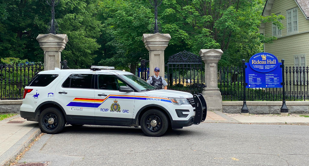BREAKING: Armed man arrested on grounds of Trudeau's residency