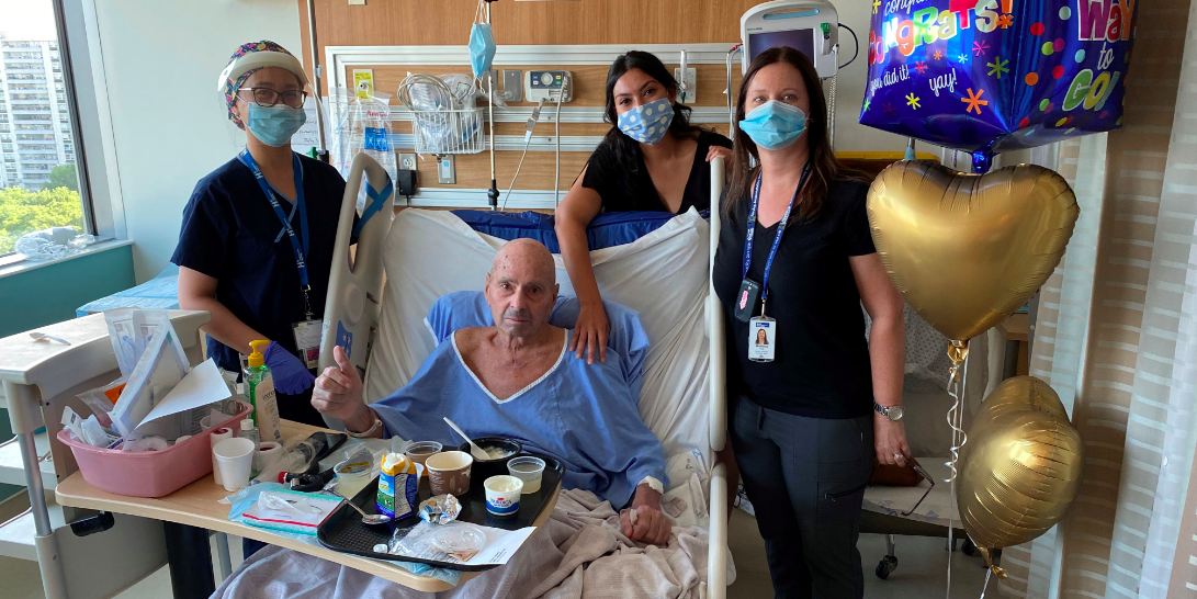 Toronto man, 73, begins recovery from coronavirus after 104 days in ICU