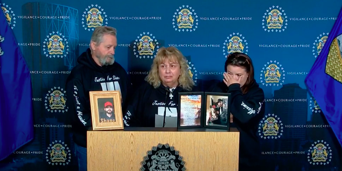 Calgary mother makes plea to public for help in locating murdered son's body