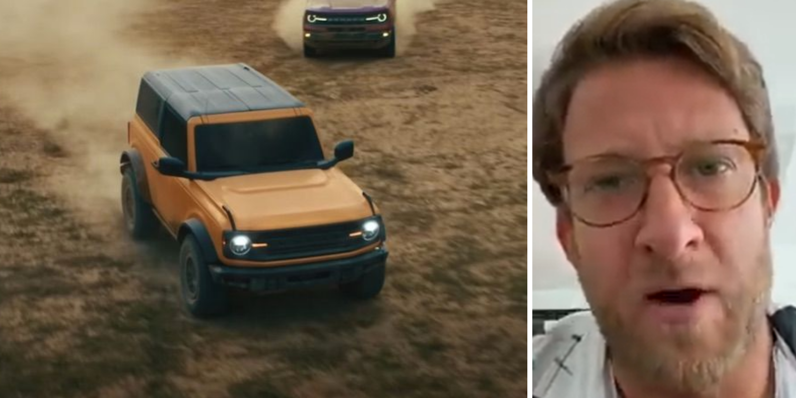 Barstool Presidente Dave Portnoy wanted the new Bronco enough to send Ford a direct message on Twitter