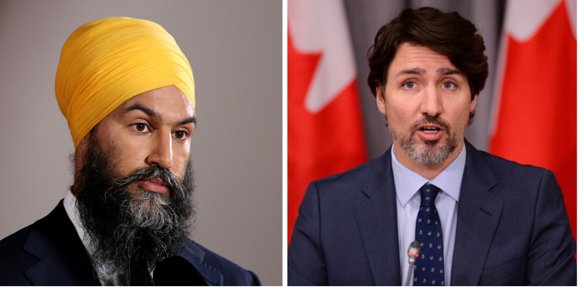 Singh says Trump has done more than Trudeau on police brutality