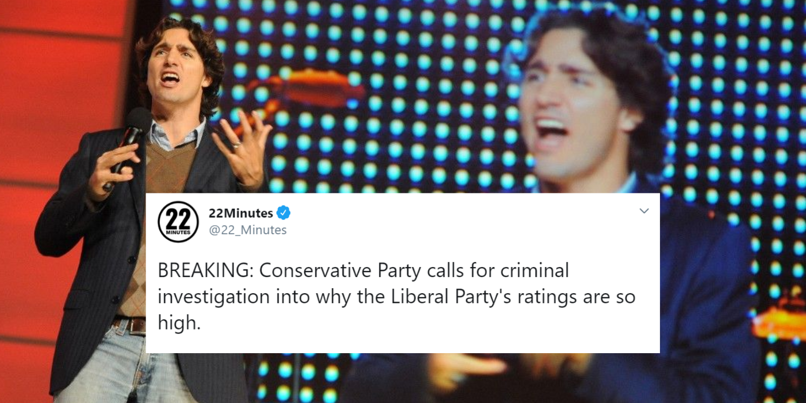 CBC comedy account's response to Trudeau's WE Charity scandal is to ... dunk on Conservative Party?