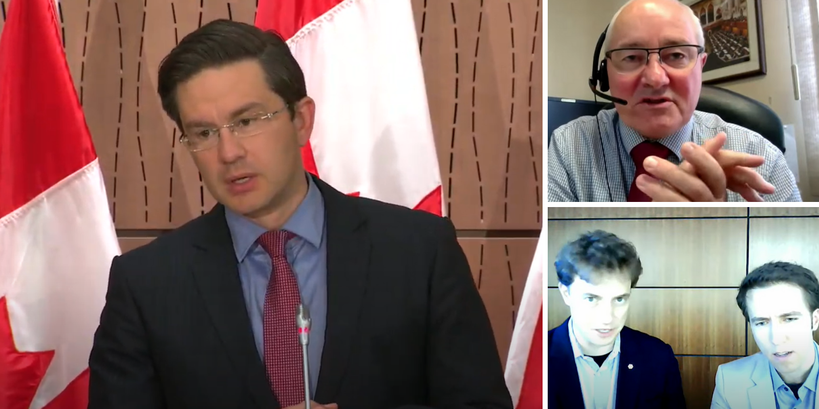 WATCH: Poilievre calls out Liberal chair of Finance Committee for being a 'bodyguard' for Trudeau, Liberal witnesses