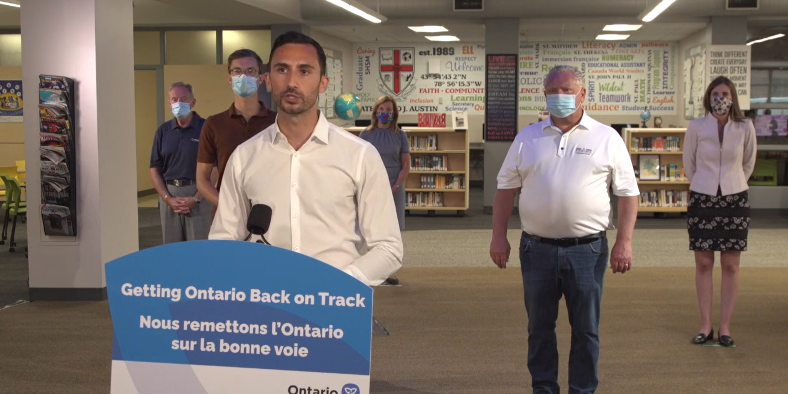 BREAKING: Ford announces return to schools in September, invests $309 million in new school nurses, staff