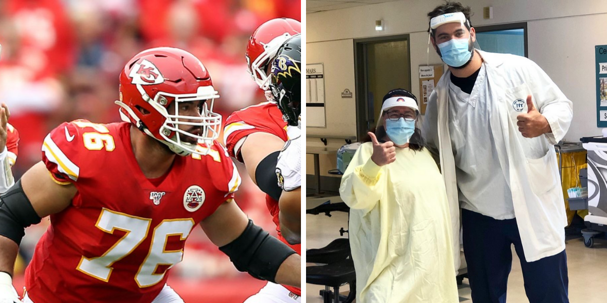 Canadian NFL hero who volunteered on front lines of COVID-19 crisis opts out of 2020 season