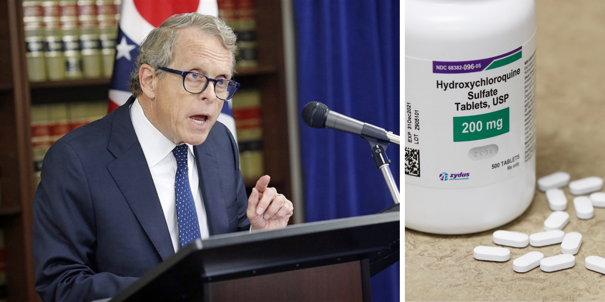 Ohio department of health bans hydroxychloroquine—then governor steps in to halt ban