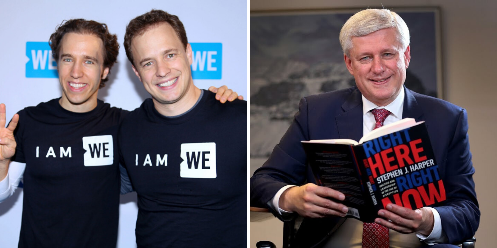 WE Charity founders attacked Prime Minister Harper on national television