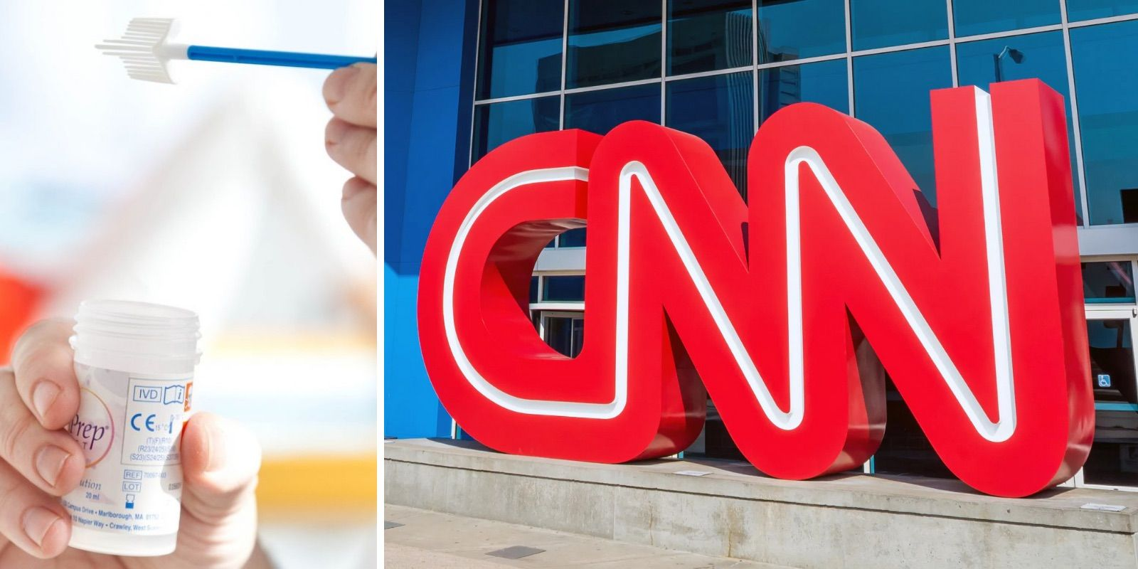 CNN says that cervical cancer screening is for 'individuals with a cervix,' but prostate cancer screening is for 'men'