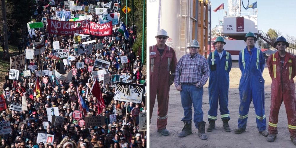 Busting the myth of opposition to gas and oil by First Nations