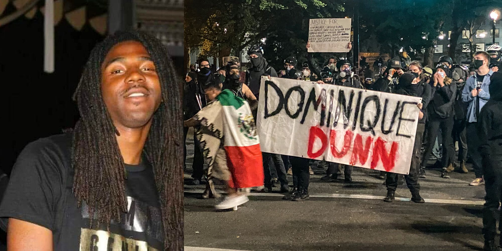 Antifa and BLM claim black shooter in Portland incident is a 'white supremacist'