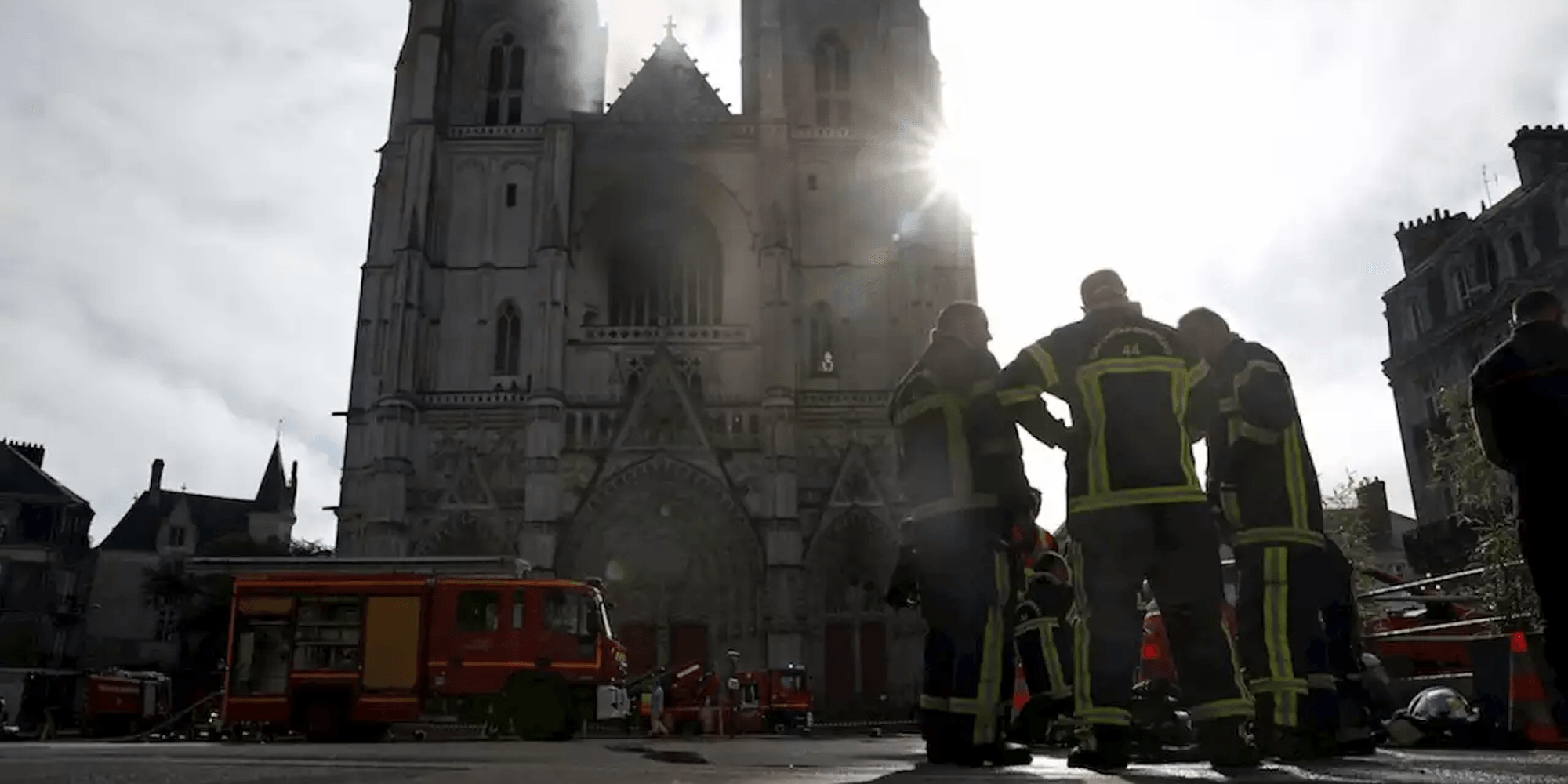French authorities launch criminal investigation into fire at Nantes cathedral