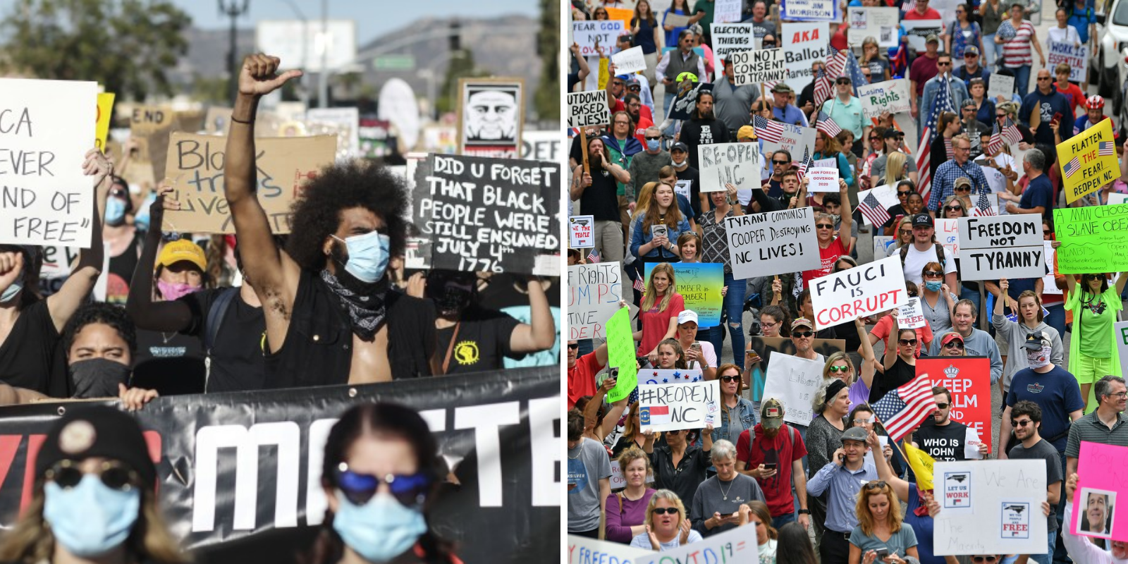 HIPPOCRATIC HYPOCRISY: Over 1,300 health professionals endorsed BLM protests after condemning lockdown protests