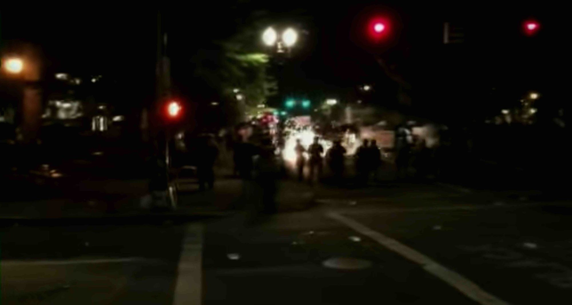 Three federal officers may be permanently blinded after Antifa laser attack in Portland