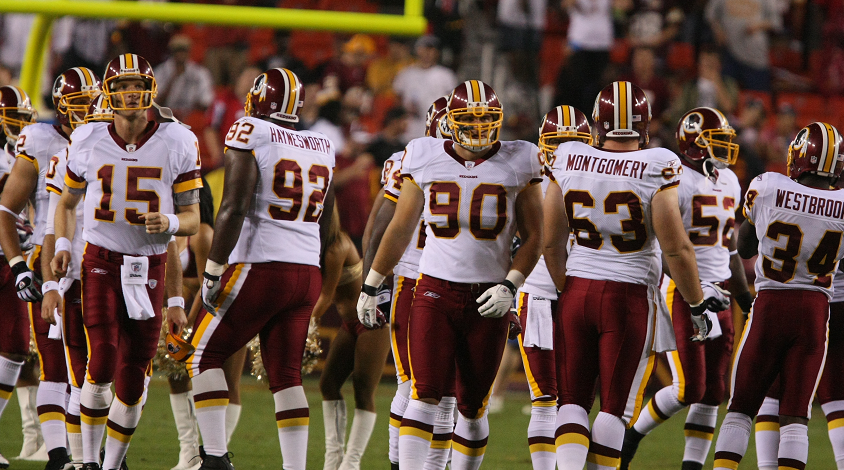 Washington Redskins to review team name after pressured by major corporations—Nike removes their merch online