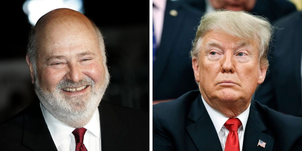 Rob Reiner says 'a vote for Trump is a vote for death'