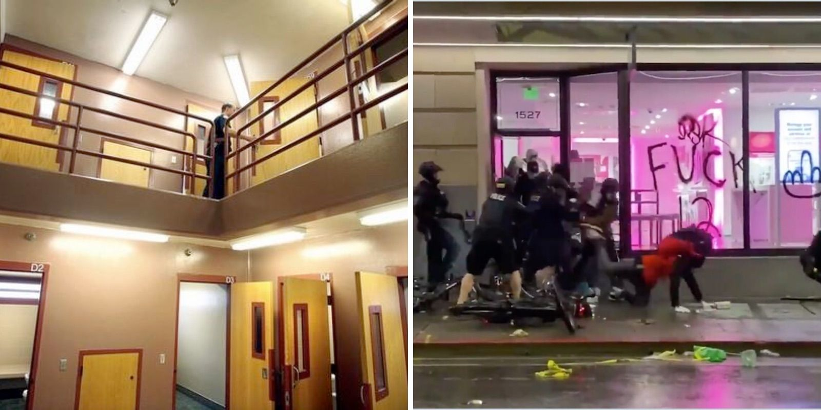 BREAKING: Seattle plans to shutter downtown jail, juvenile detention centers after city council votes to defund police