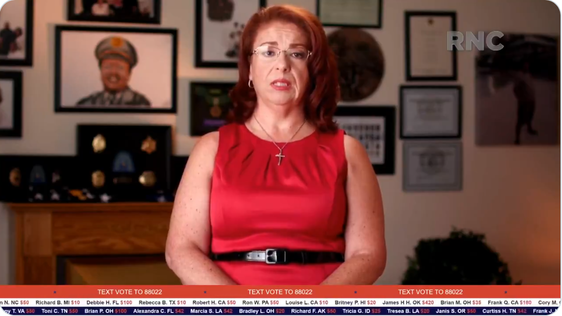 WATCH: Ann Dorn eloquently speaks truth to power about BLM violence