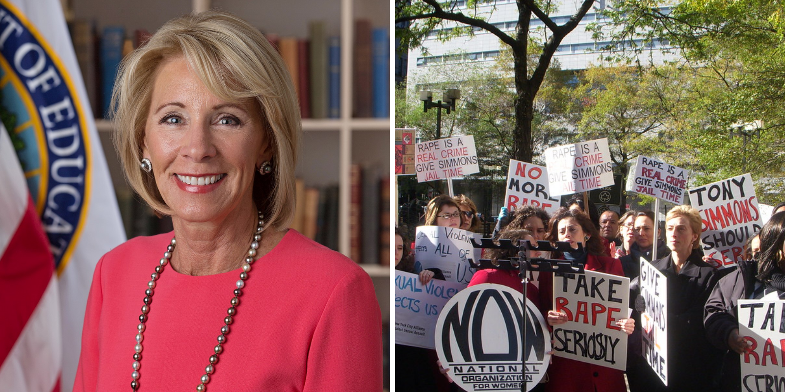 Betsy Devos restores much-needed due process to American campuses with Title IX reforms